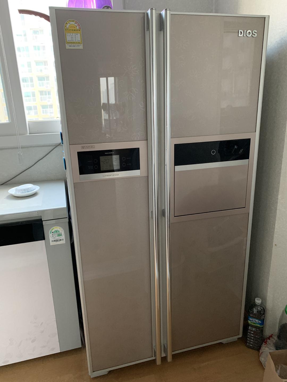 디오스 양문형 냉장고