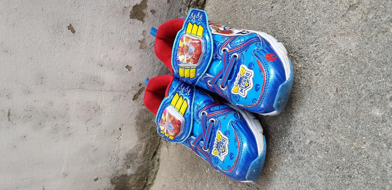 아이 신발 우유와 교환1