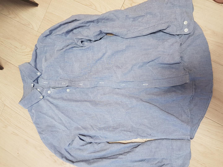 쿨그레이 색상 셔츠 l사이즈