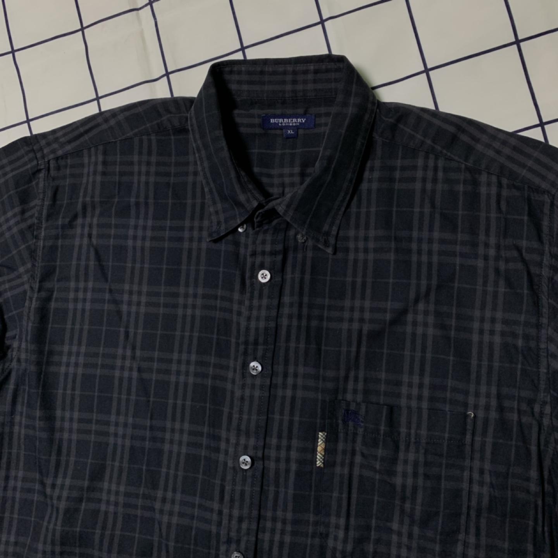 버버리 신형 블랙 노바체크 반팔셔츠 (정품)