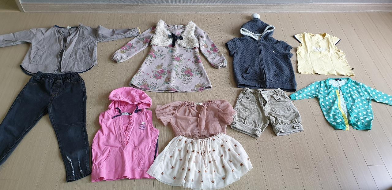 5~6세 여자아이옷 일괄