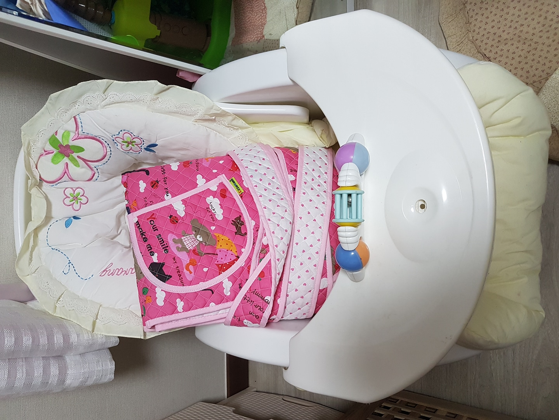 유아용 바운서및 포대기