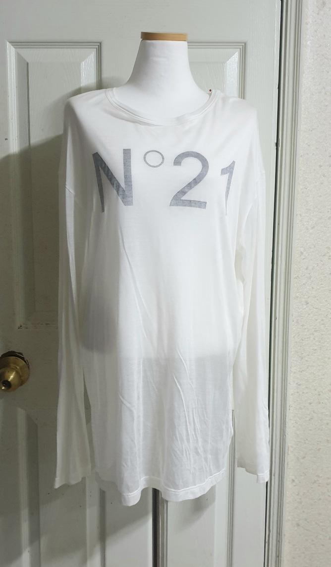 n21 시스루 티셔츠