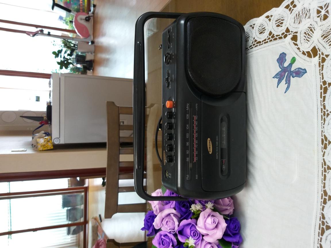 삼성 카세트&라디오