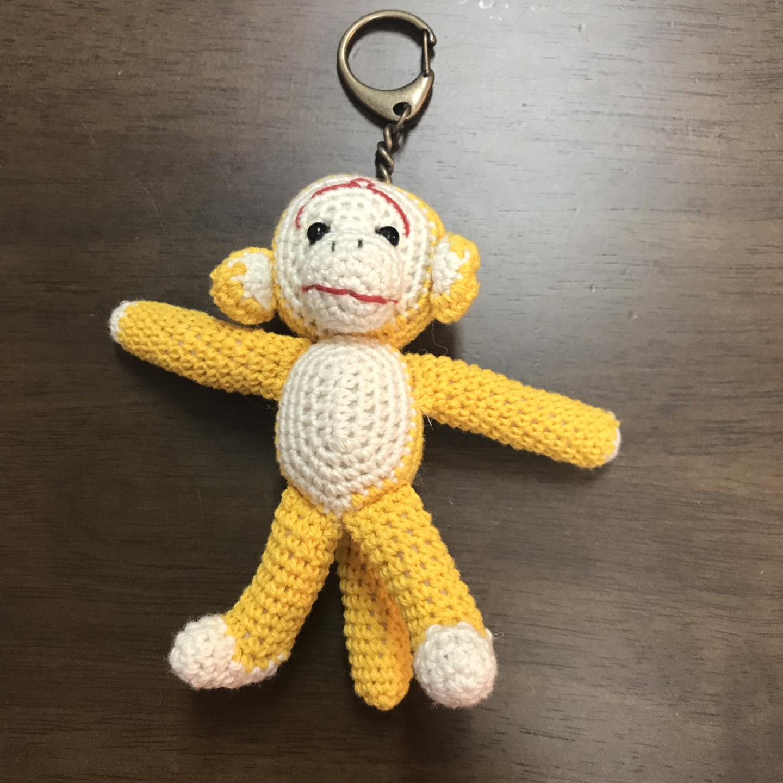 핸드메이드 원숭이 키링