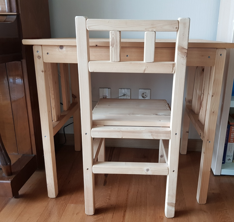 유아책상의자 (아동책상의자 원목책상의자)
