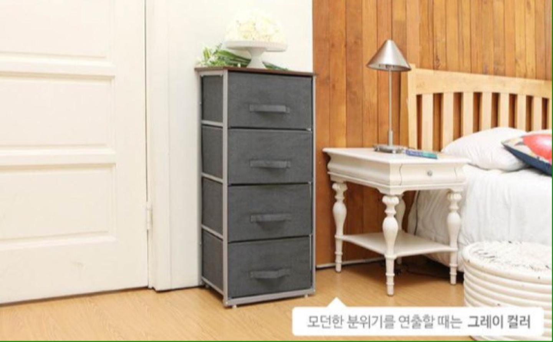 까사마루 4단 서랍장