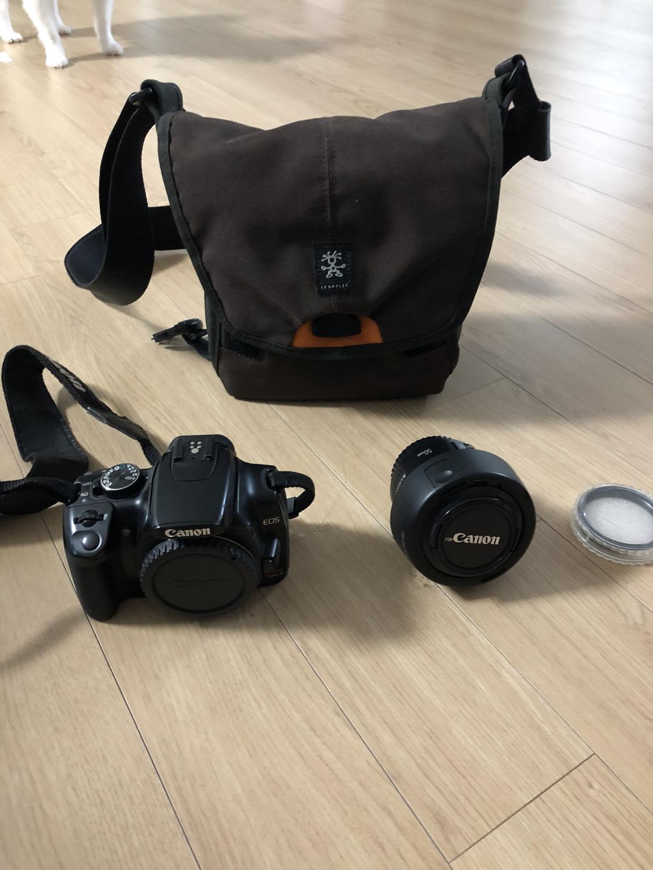 카메라) 캐논 DSLR 400d 팝니다