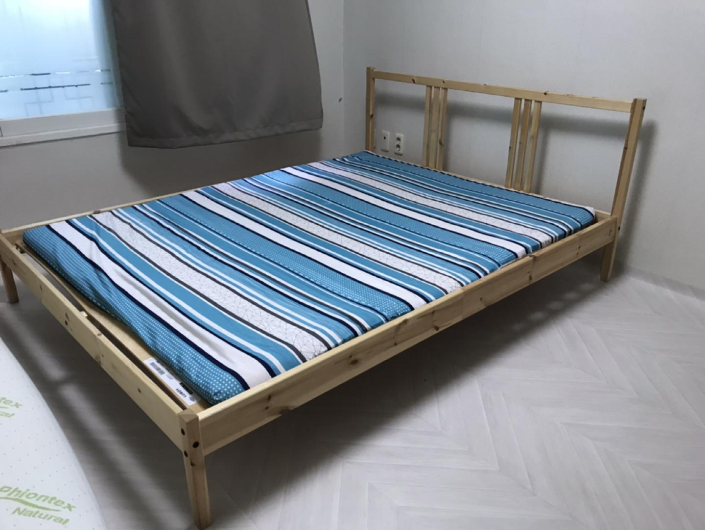 조립식 침대 , 나무 침대