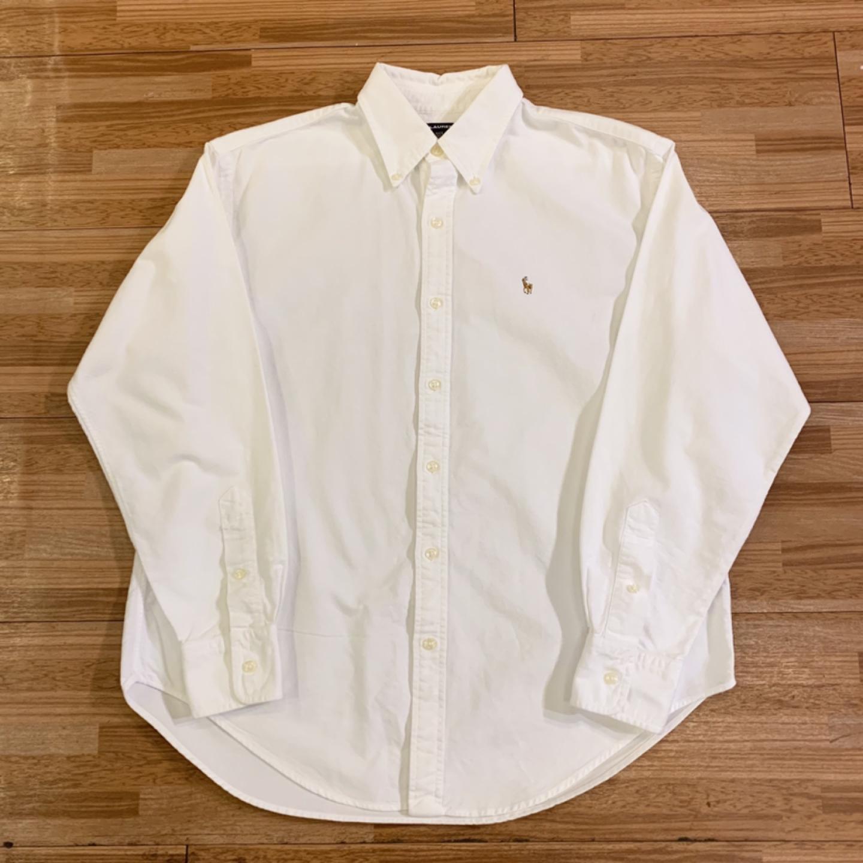 폴로 화이트셔츠