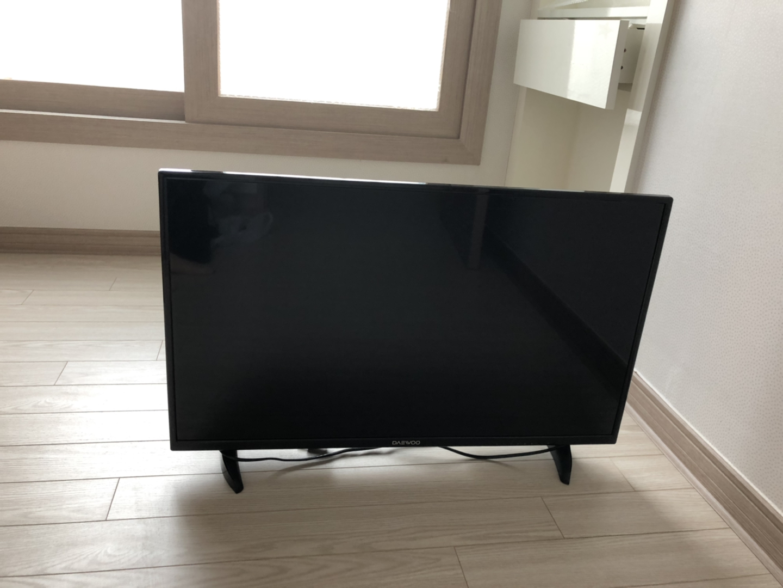 티비 32인치 LED 대우전자 TV