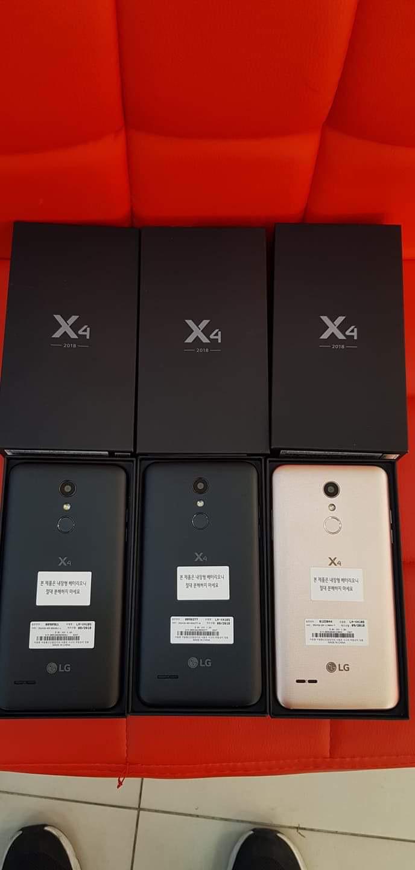 새 핸드폰 (X4 2018),1년 보증하기, 전체 액세서리