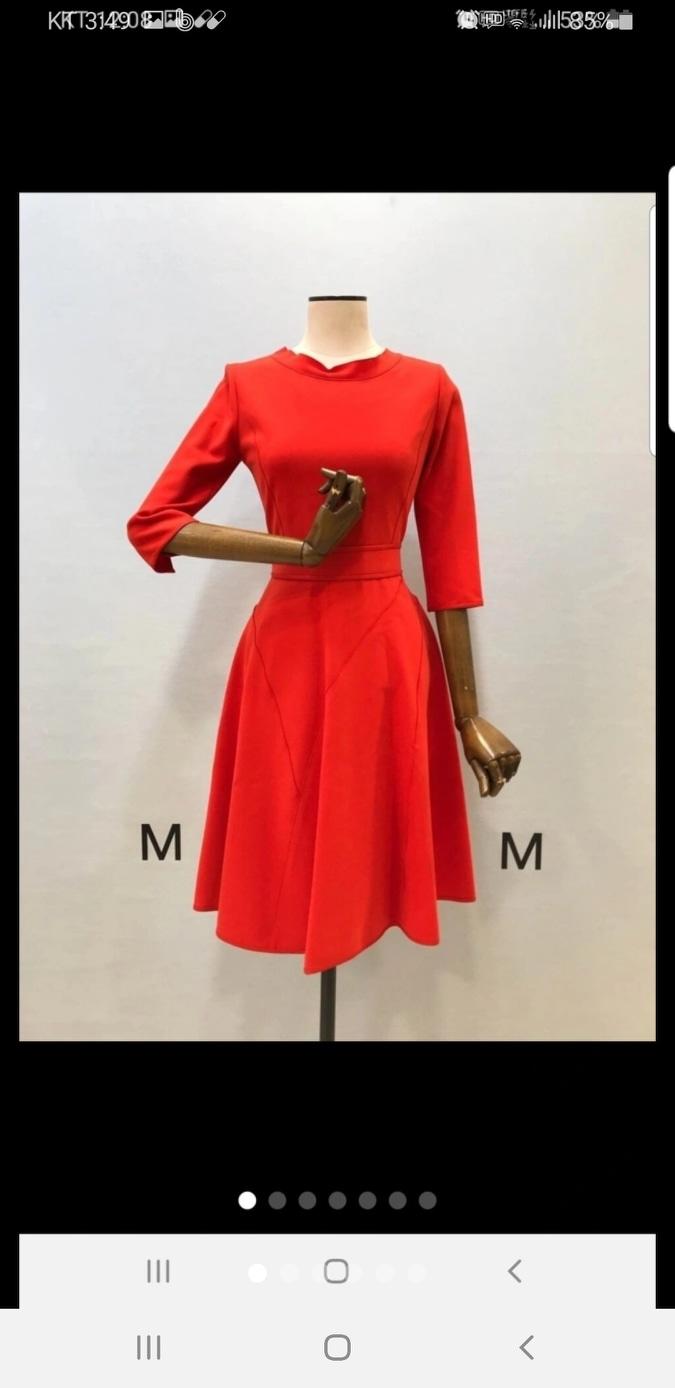 미샤 레드 드레스(새제품)