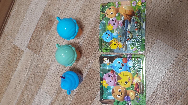향기 아이스크림 유아동장난감 엄마까투리퍼즐