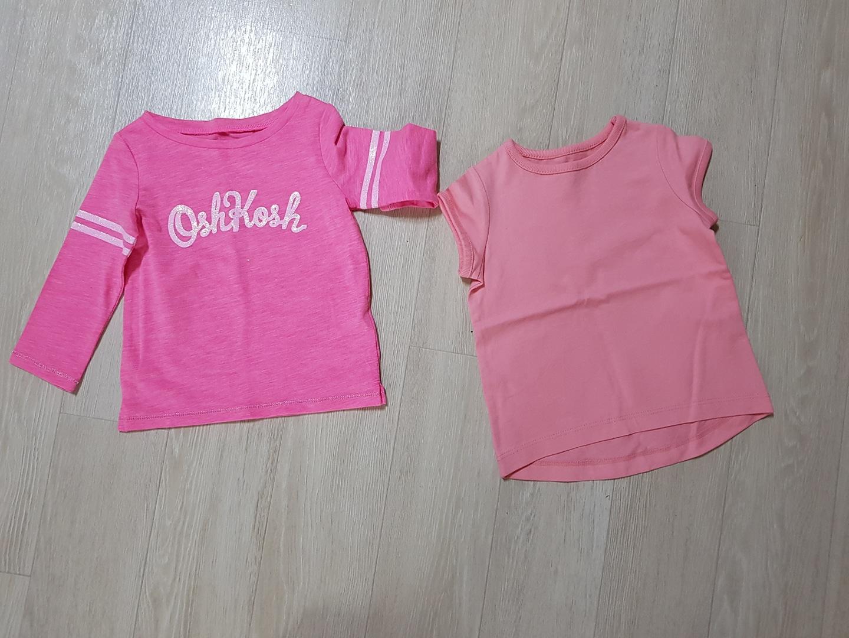 핑크아기옷 새상품 일괄 2000