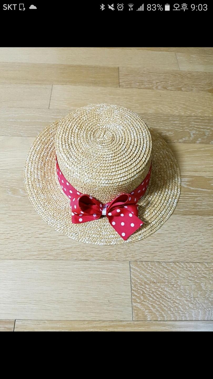 유치원 여아 여름 모자