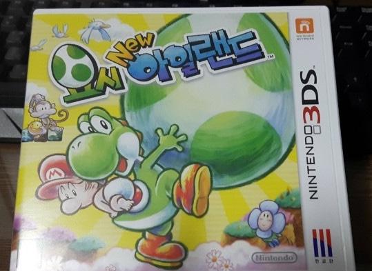 닌텐도 게임2개 요시 아일랜드 한글판 닌텐도 3DS