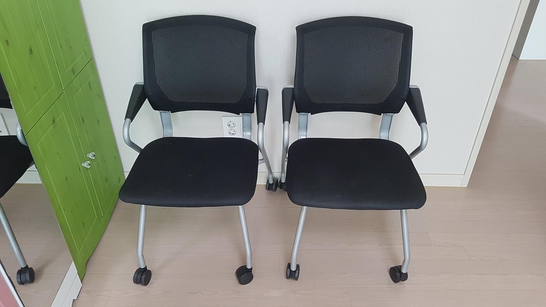 접이식 의자 2개 나눔 합니다.