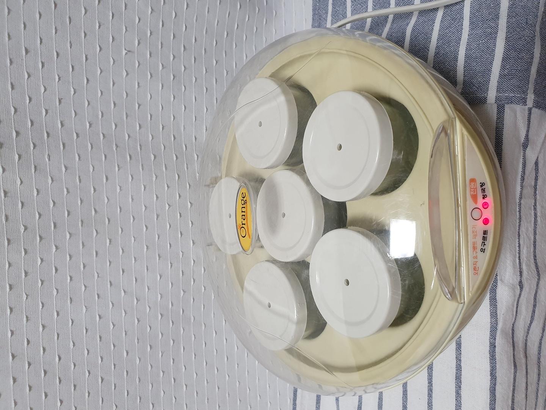 오렌지 요거트 청국장 제조기 유리용기