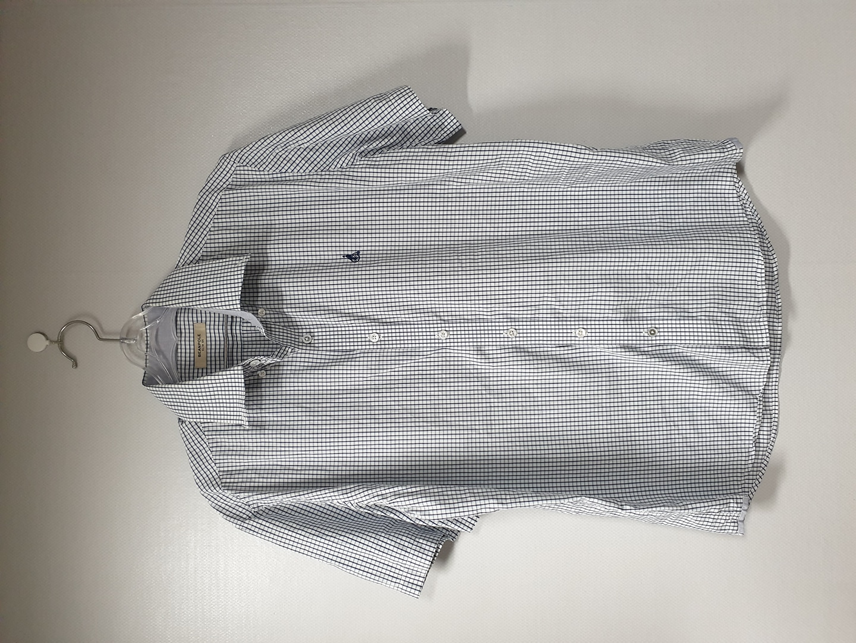 빈폴 체크 셔츠 슬림 105