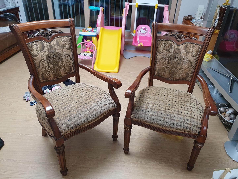 앤틱 의자