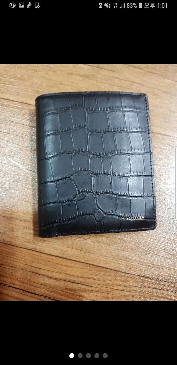 에스콰이어 가죽반지갑