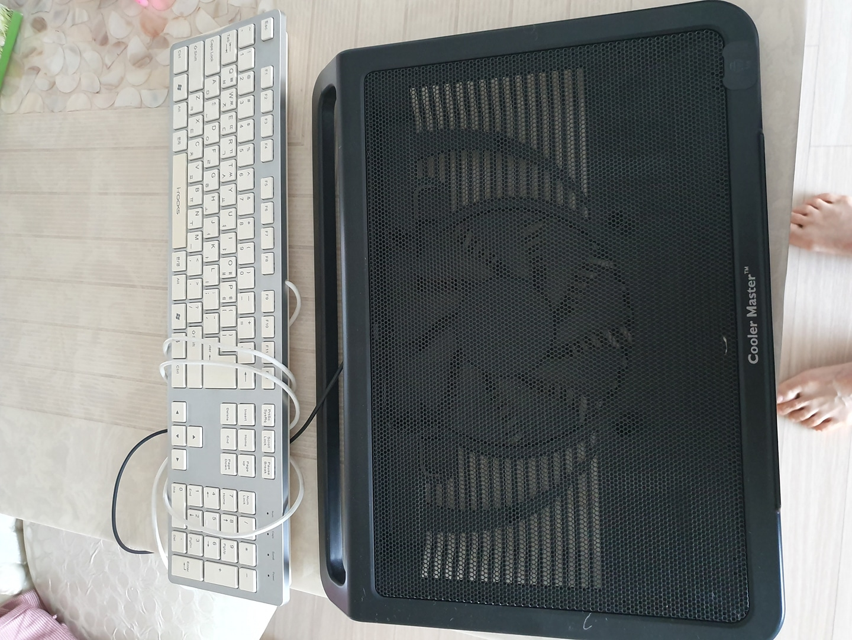 노트북 받침대 키보드