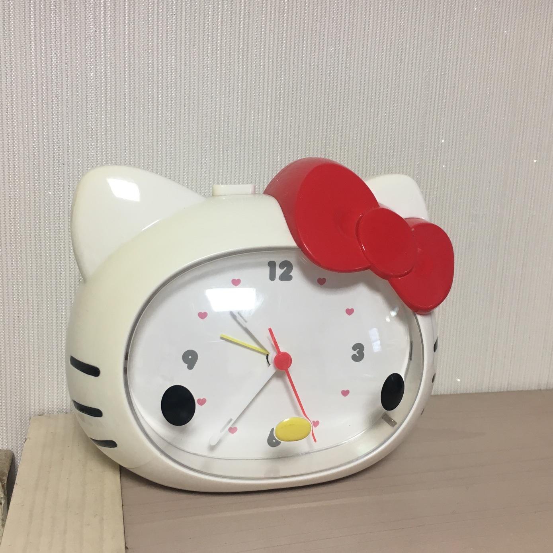 헬로키티시계 탁상시계 알람시계