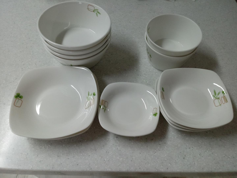 밀양본차이나 그릇 세트