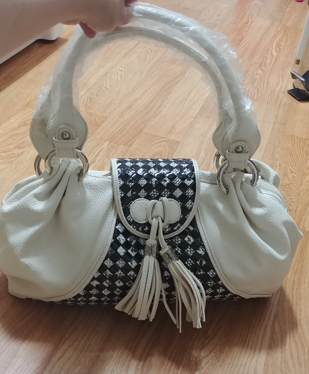 NICOLE LENIC 여름가방 흰가방 여성가방 핸드백 숄더백