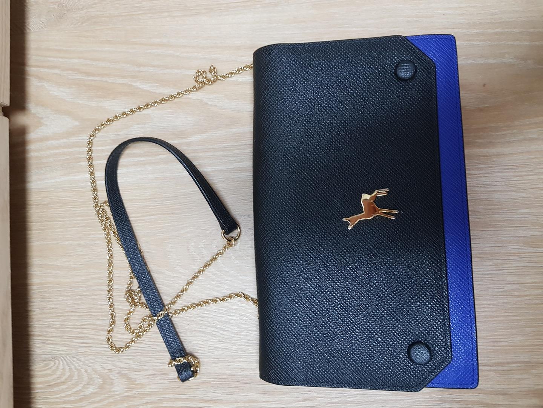 블랙마틴싯봉 클러치백 (미니백.클러치 지갑)