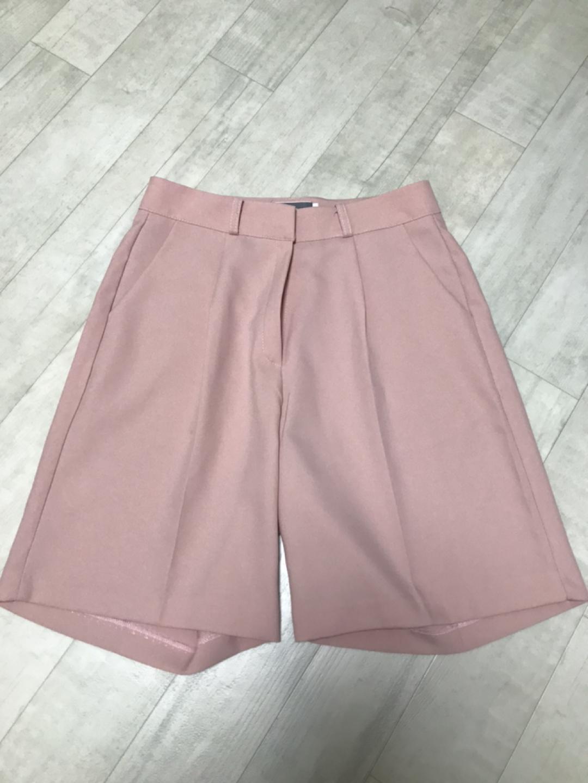 핑크반바지슬랙스