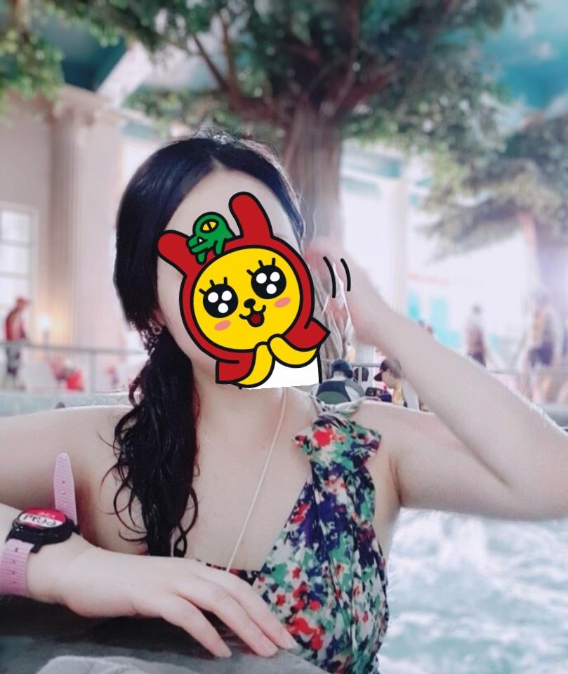 77~77반 리본 꽃 원피스 수영복