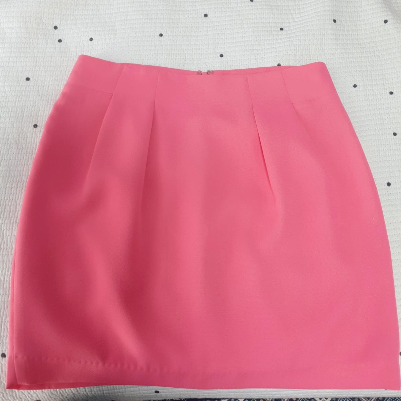 로엠 핑크 치마 (상큼)