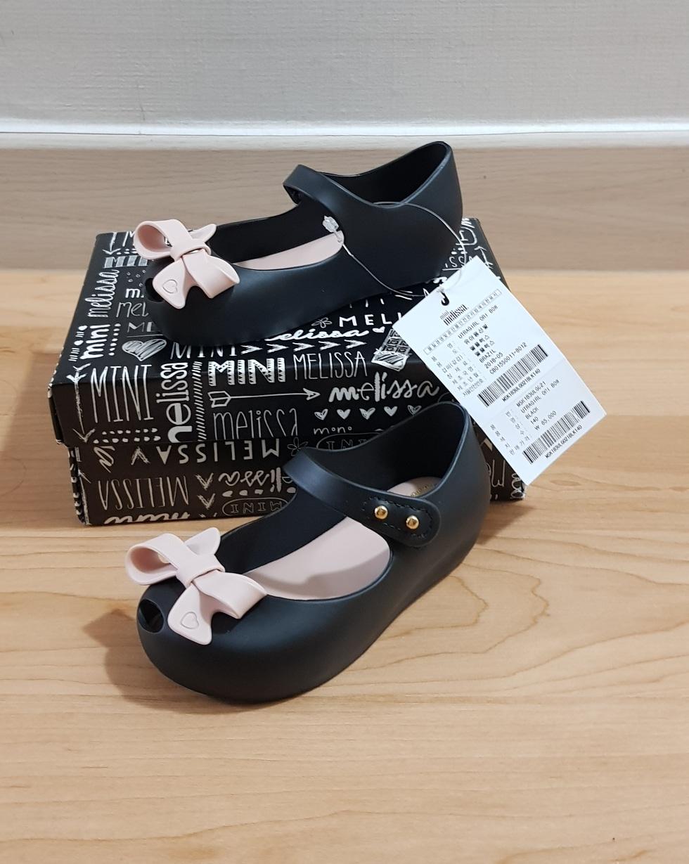 미니멜리사 블랙보우 새상품 택포가격