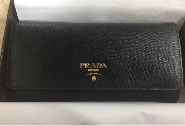 프라다 사피아노 장지갑