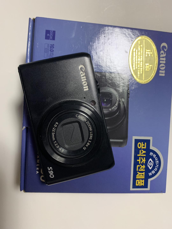 캐논 카메라 파워샷s90 디카 판매해요