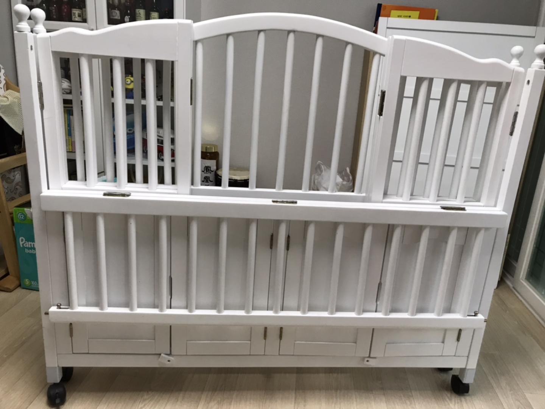 아기침대 원목침대