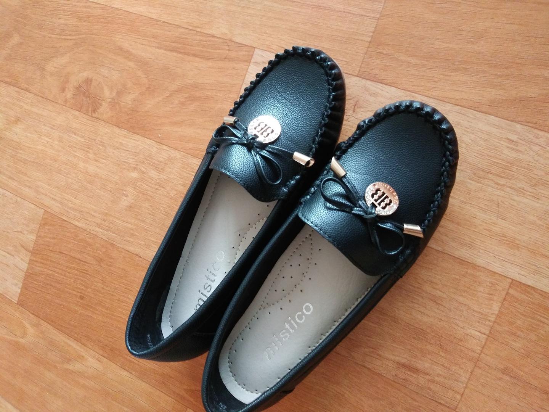 신발240 불랙 새신발 가죽아님