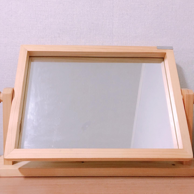 소프시스 원목 테이블 거울 450x80x290(h)