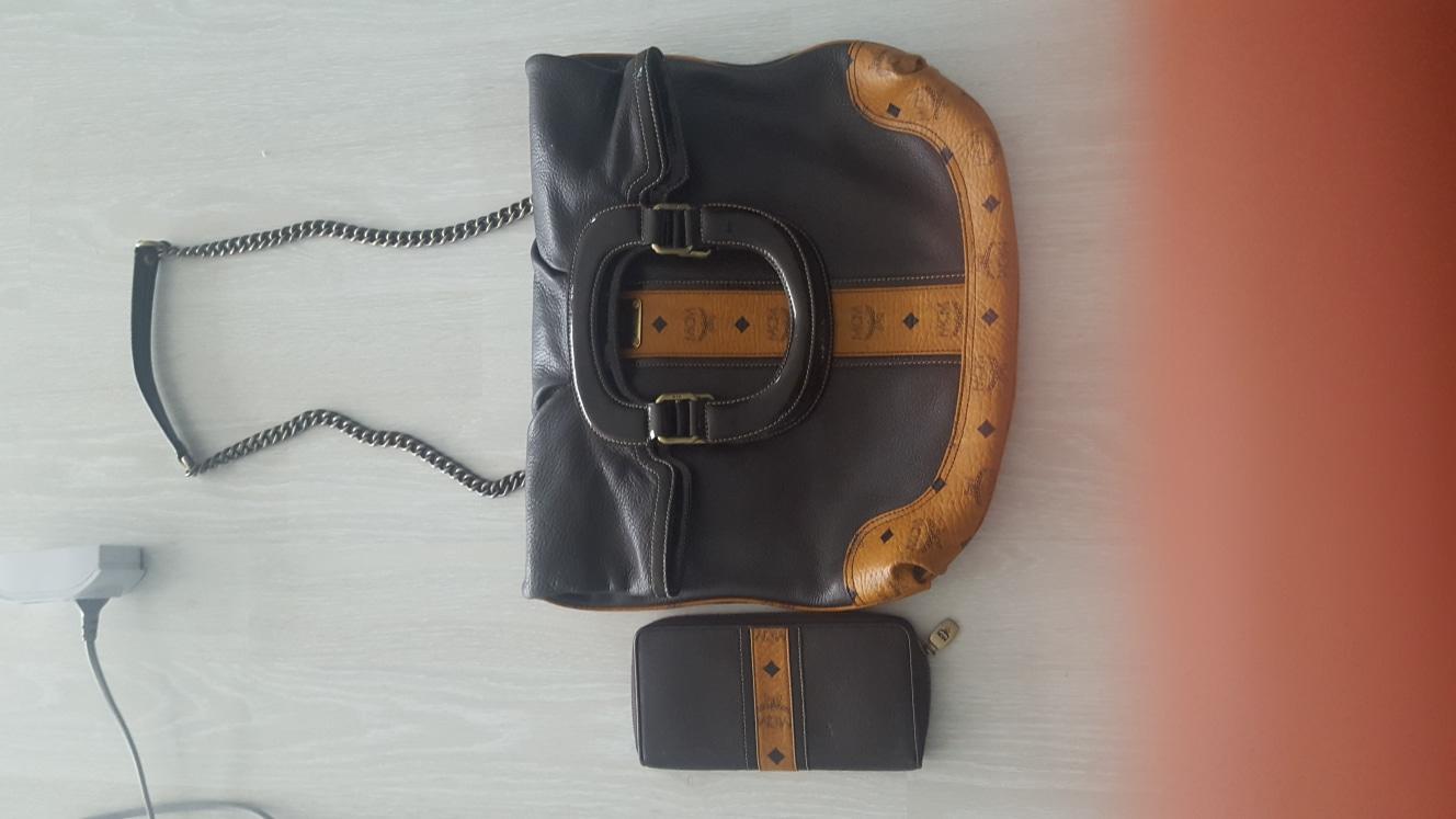 mcm가방과 장지갑