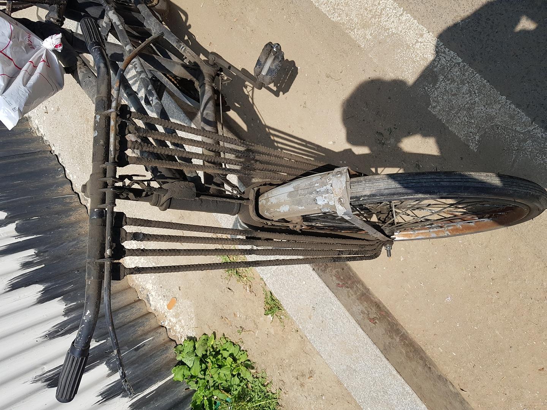옛날 쌀집 자전거