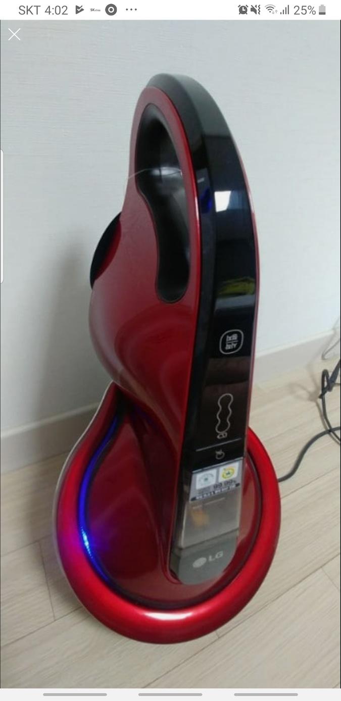 LG침구청소기 코드제로 LG침구킹VH9200DSW 무선침구청소기
