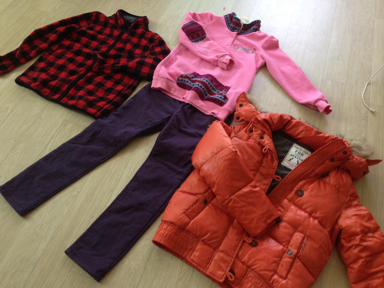 초등여아 겨울옷 150 외 묶음판매
