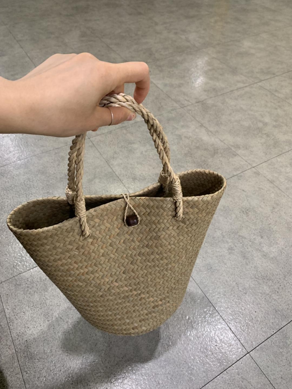 라탄가방. 라탄백. 여름가방.