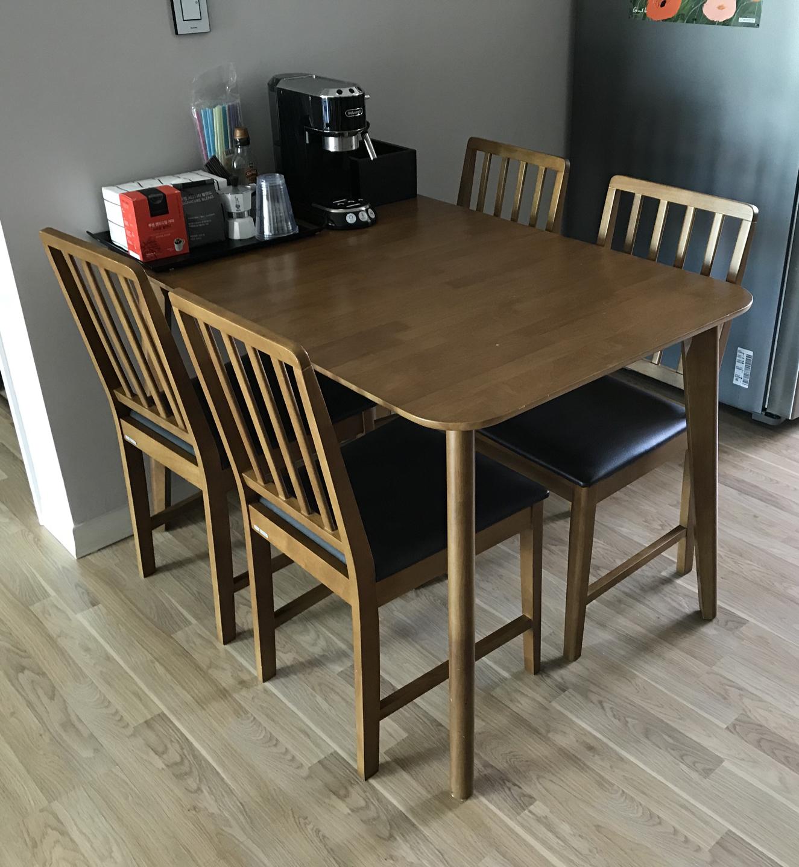 리바트 원목 식탁 테이블 (의자X)