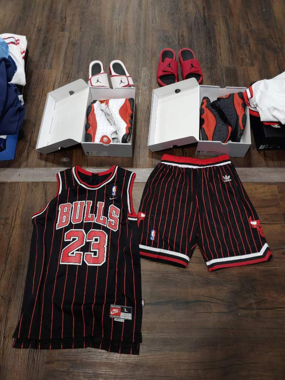 조던 13 홈 어웨이 농구화 유니폼 셋