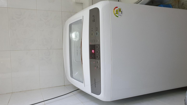 대우 통돌이 세탁기 13KG (DWF-13GAWC) 공기방울세탁기