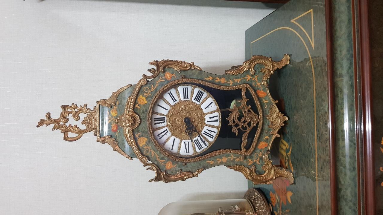 엔틱시계 스택드시계 탁상시계 시계장식