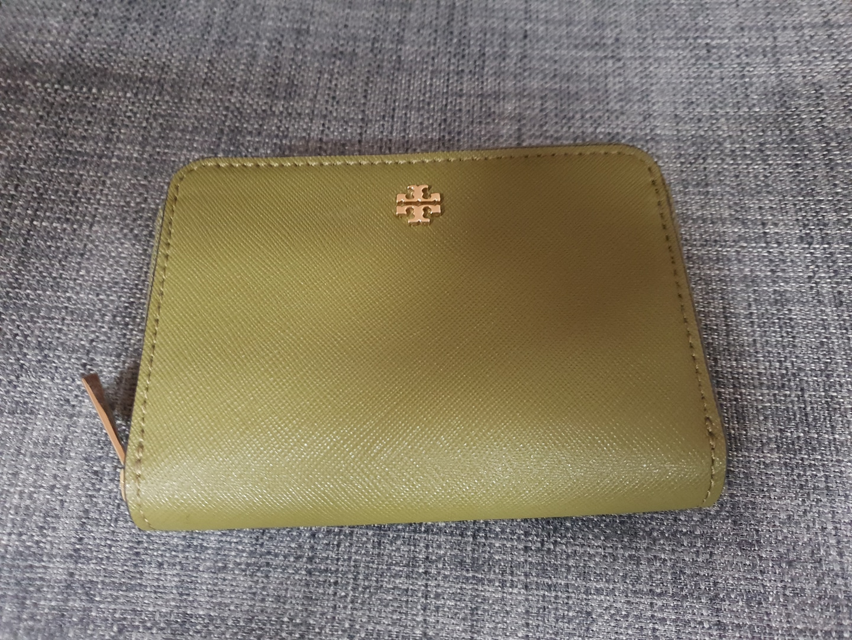 (택포)토리버치 정품 에머슨 지퍼 카드지갑 동전지갑 명함지갑